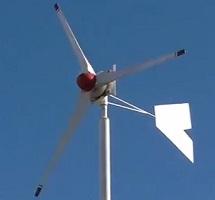 turbina eoliana facuta acasa