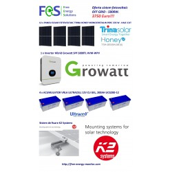 Kit fotovoltaic 4000Wp